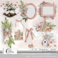 Christmas pack CU 8 - derivative by Cajoline-Scrap