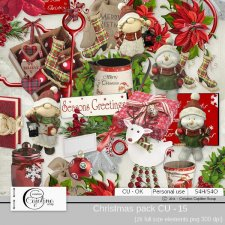 Christmas pack - CU 15 by Cajoline-Scrap