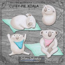 EXCLUSIVE Cutey Pie Koala by Silver Splashes