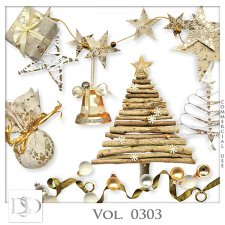 Vol. 0300 to 0304 Christmas Mix by D's Design