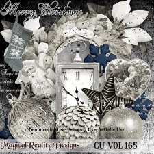 Christmas Mix - CU Vol 165 by MagicalReality Designs