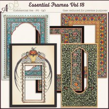 Essential Frames Vol 18 by ADB Designs