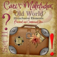 Maletuchas - Set 2 - Old World by Cari Lopez