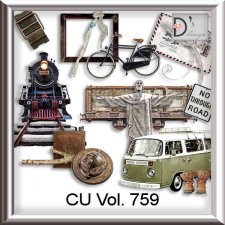 Vol. 755 to 759 Travel-World by Doudou Design