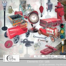 Elements CU - 105 by Cajoline-Scrap