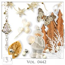 Vol. 0442 Winter Christmas Mix by D's Design