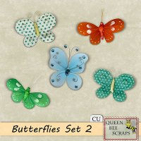 Butterflies Set 2