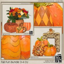 Fall Fun Bundle 3-4 CU