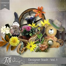 Designer Stash Vol. 1 - CU by Feli Designs