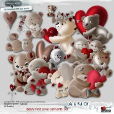 Beary First Love Elements Set
