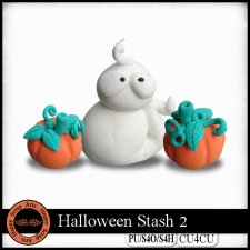 Halloween Stash 2 elements CU4CU by Happy Scrap Art