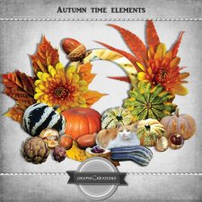 Autumn time EXCLUSIVE Element by Graphic Creations