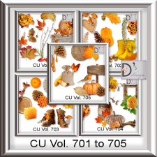 Vol. 701 to 705 9Autumn Mix by Doudou's Design