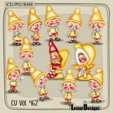 CU Vol 462 Gnome by Lemur Designs
