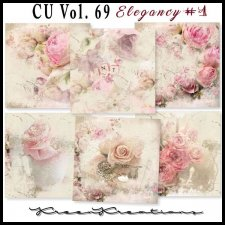 CU Vol. 69 Papers Pack Elegancy 1 by Kreen Kreations