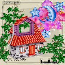 CU Vol 586 Sweet Dreams by Lemur Designs