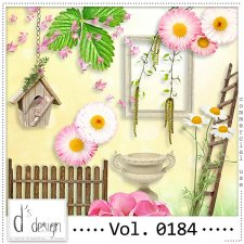 Vol. 0184 Spring Nature Mix by Doudou Design