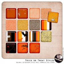 Trick or Treat Styles by MoonDesigns