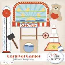 Carnival Games Templates by Kim Cameron