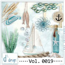 Vol. 0019 - Beach Mix by Doudou's Design