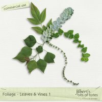 Foliage - Leaves & Vines 1
