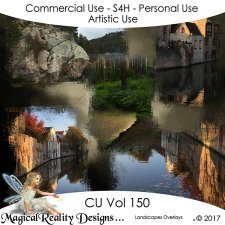 Landscapes Overlays - CU Vol 150 by MagicalReality Designs