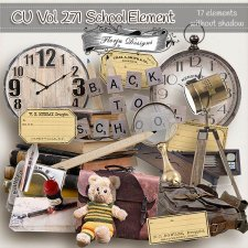 CU vol 271 School Elements by Florju Designs