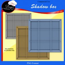 Shadow Box - Cu TEMPLATE by Boop Designs
