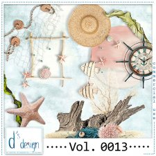 Vol. 0013 - Beach Mix by Doudou's Design