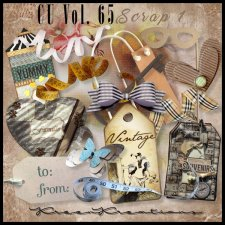 CU Vol. 65 Scrap Element Mix 1 by Kreen Kreations