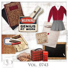 Vol. 0743 School Mix by D's Design