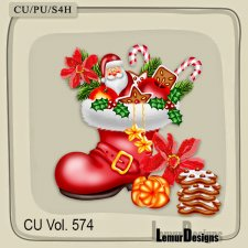 CU Vol 574 Christmas Stuff by Lemur Designs
