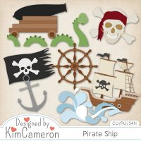 Pirate Ship by Kim Cameron