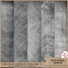 Grunge Genius Volume Four by Mad Genius Designs