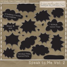 Speak to Me Vol 2