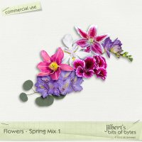 Flowers - Spring Mix 1