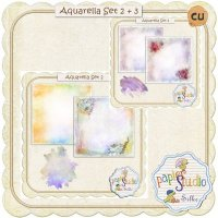 Aquarella Overlay Bundle by Papierstudio Silke