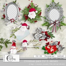 Christmas pack CU 3 - derivative by Cajoline-Scrap