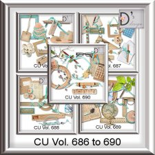 Vol. 686 to 690 School Mix by Doudou Design