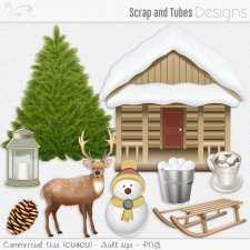 Winter Elements 5 (CU4CU) by Scrap and Tubes