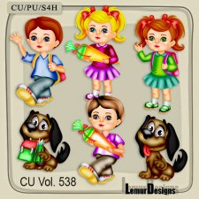 CU Vol 538 School Stuff by Lemur Designs
