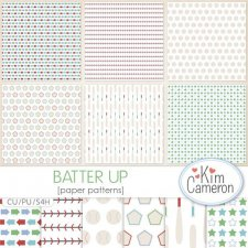 Batter Up Pattern Templates