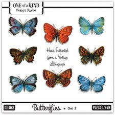 Butterflies - Set Three