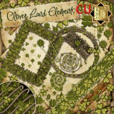 Clover Land Elements by Cari Lopez