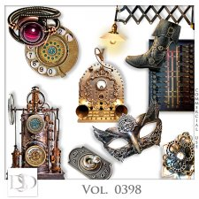 Vol. 0398 Steampunk Mix by D's Design