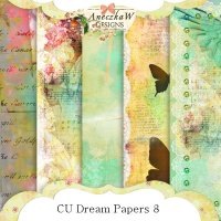CU Dream Papers 8 by AneczkaW