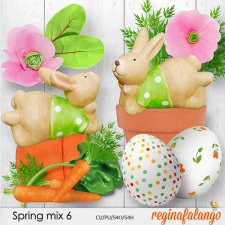 Spring mix 6 by reginafalango