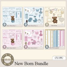 New Born bundle by Happy Scrap Arts