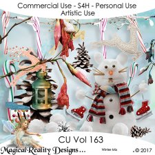 Christmas Mix - CU Vol 163 by MagicalReality Designs