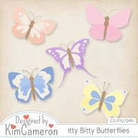 Itty Bitty Butterflies by Kim Cameron